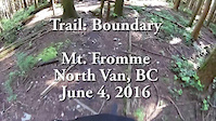 Mt. Fromme - Boundary POV