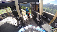 Leogang World Cup - Jack Reading and George...