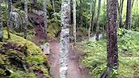 Waterfall along side Neilson trail