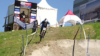 Jack Reading in practice at Lenzerheide World...