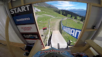 Jack Reading timed practice run Lenzerheide...