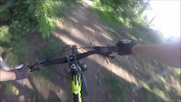 Black mamba DH trail at bailey