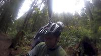 Home made gopro helmet swival