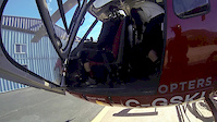 Heli Biking in Whistler on Rainbow Mt