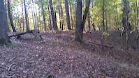 nice hill jump on 286 trail near Raleigh NC