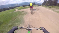 Super Morzine follow cam
