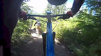 funny crash at whistler bike park