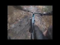 Muddy DH run