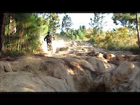 Estrenando la Tr en el Volcan/Testing my new Tr250