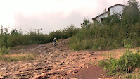 Nick Matous rides Forbidden Plateau
