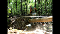 Mt Zion Trail Building in HD   August 2011