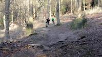QECP Trail Digging Final Descent