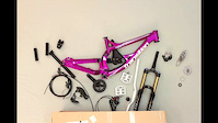 Binary Bike Transition TR250 stop motion build