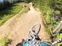 Crabapple Hits Pro Line at Whistler 2012
