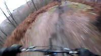 Cannock Chase Stile Cop Downhill Ride at Christmas