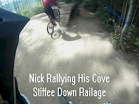 Following Nick down Railage