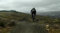 bike park wales - few slo mo's and a nasty as...