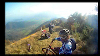 Freeride lines with a naughty bike