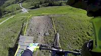 120 jumps run in Verbier Bikepark