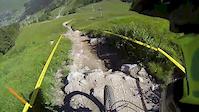 Verbier Bikepark Yellow trail 01 Tire's Fire