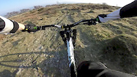Evening ride up Whitbarrow Scar 09/04/2015