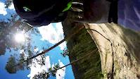 Trestle Bike Park: Air DH Race (CRASH) 100% GoPro