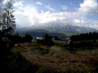 Schladming bikepark on Giant Trance