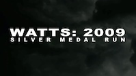 Top 5 All-Time Runs: Watts 2009