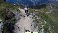 Fun day in Verbier with 8 year old