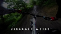 Bikepark Wales, evening uplift 28th July 2016