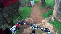 riding along the trail with a fail-30/1/2015