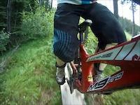 DH Biking at Panorama, BC