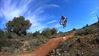 practing in 2 different trails