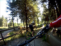 Freeride Park and Spooky Woods, Glentress,...