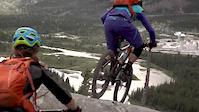 Dave and Tara ride Razor's Edge