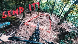 Hittin NEW JUMPS & Riding my Hometrails in...