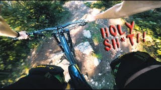 HORROR Run - How NOT to ride a DOWNHILL Trail...