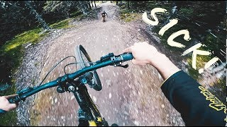 SICKEST FREERIDE JUMP TRAIL EVER?! - ft....