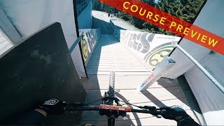 German Downhill Cup Winterberg 2017 Course...