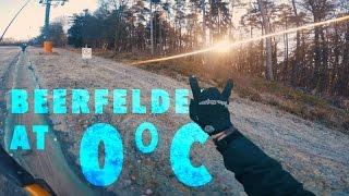 RIDING AT 0°C!! - Bikepark Beerfelden RAW...