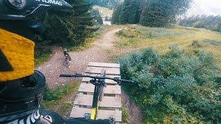 BIKEPARK CHATEL - RAW GoPro Downhill | Luis...