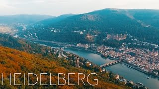 HEIDELBERG - DRONE FLIGHT in Germany | DJI...