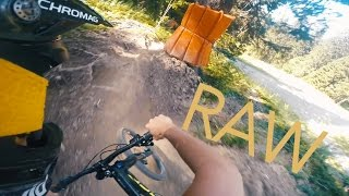 Bikepark MORGINS - PURE RAW DOWNHILL | GOPRO...