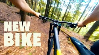 Riding my NEW BIKE - GoPro Downhill Heidelberg...