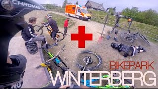 BIKEPARK WINTERBERG - Roadtrip to HOSPITAL |...