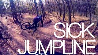 AWESOME FREERIDE JUMPLINE | GOPRO MTB | Luis...