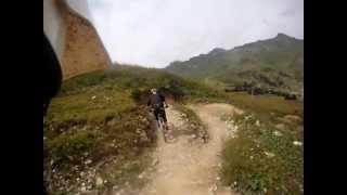Les Crosets Favourite Trail uncut. Freeride -...