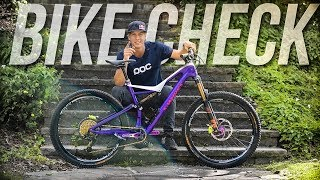 The Urban Freeride Machine - Bike Check Fabio...