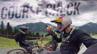Downhill Pro Line Check in Saalbach -...