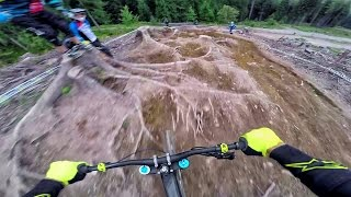 European Downhill Cup Leogang 2016 - Course...